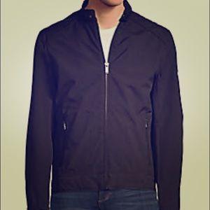 Michael Kors Logo Stiched Jacket Black
